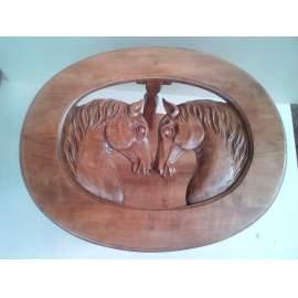 lovas dohányzóasztal