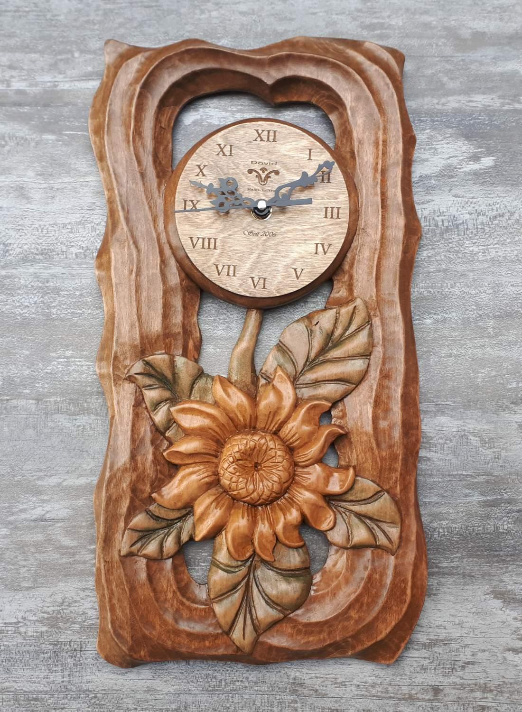 Napraforgó óra  ,virág óra